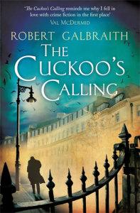 Obálka knihy Cuckoo's Calling