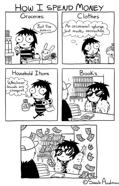 Sarah's Scribbles o knihách