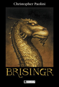 Christopher Paolini: Brisingr (obálka knihy)