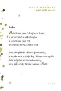 Marie Iljašenko: Osip míří na jih (obálka knihy)