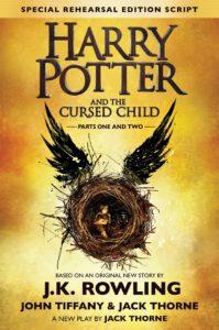 Rowlingová, Tiffany & Thorne: Harry Potter and the Cursed Child (obálka knihy)