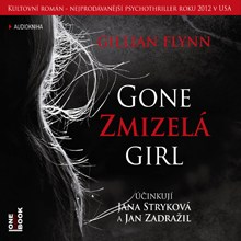 Gillian Flynn: Zmizelá (Přebal CD)