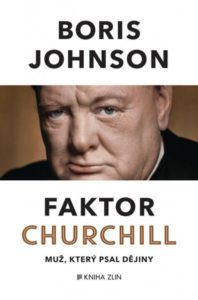 Boris Johnson: Faktor Churchill (obálka knihy)